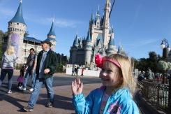 Iconic Cinderella Castle shot!