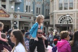 She was obsessed with the parade!